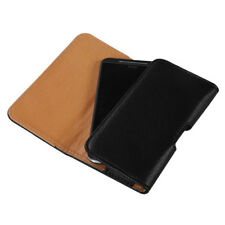 Executive Business Cell Phone Clip Pouch Holder Belt Loop Case Strap Black Tan