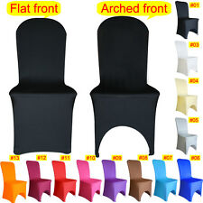 New Chair Cover Spandex Lycra Wedding Banquet Anniversary Party Decoration
