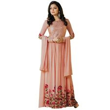 Designer Anarkali Full Length Salwar Kameez Suit Bollywood Dress India-LT-99002
