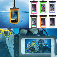 iPhone Cell Phone Waterproof Underwater Pouch Dry Bag Case Cover Touchscreen Hot