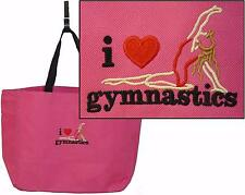 I Heart Gymnastics Essential Tote Gymnast Bag Monogram Custom Embroidered NWT