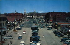 Arthur Jennison 1964 Keene NH Main Street and Central Square Cheshire County PC