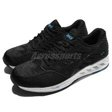 Asics FuzeX Black White Blue Men Running Shoes Sneakers Trainers T639N-9090