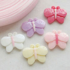 20/100pcs Kid's Baby Trojan Resin Flatbacks Buttons Scrapbooking Lots Bulk B0343