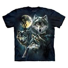 MOON WOLVES COLLAGE CHILD T-SHIRT THE MOUNTAIN