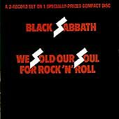 We Sold Our Soul for Rock 'n' Roll by Black Sabbath (CD 1976) Org. Pressing