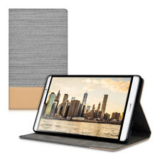 SYNTHETIC LEATHER CASE FOR HUAWEI MEDIAPAD M2 8 0 LIGHT GREY COVER STAND CANVAS