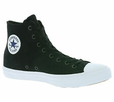 NEU Converse All Star Chuck Taylor II Hi Shoes Trainers Black
