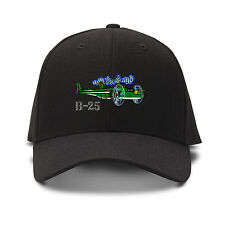 B-25 Aircraft Name Embroidery Embroidered Adjustable Hat Cap