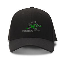 A-10 Aircraft Name Embroidery Embroidered Adjustable Hat Cap