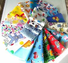 kids craft patchwork fabric material remnants boy