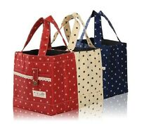 Thermal Insulated Little Lunch Bag Kids School Lunch Bag Picnic Box Lace Dot UK