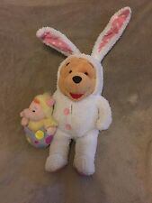 VTG Disney Store Winie The Pooh & Piglet Easter Costume Plush - FREE SHIPPING