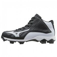 Mizuno 9-Spike Advanced Franchise 8 Mid Men's Baseball Cleat 320504 Black