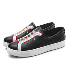 Loafer shoes Casual Women's Flats Black Fashion Comfort Boat Shoes