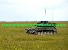 British Army Scimitar Armoured Fighting Vehicle Tank Military Color Photo War