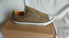 NEW in box Converse All Star Slip On Ox trainers Size 5 EU 38 in tan