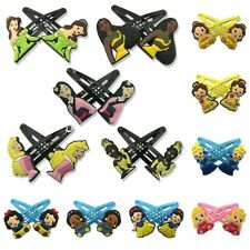 1-5pairs Baby Princess Kids Hair Clips Hairpins Accessory Christmas Party Gift