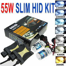 55W HID Xenon Headlight Conversion KIT Bulbs H1 H3 H4 H7 H8/H9/H11 880/881 9005
