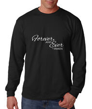 Forever And Ever Cotton Long Sleeve T-Shirt Tee