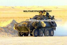 USMC Light Armored Vehicle Two Five LAV-25 Military Color Photo Army War Vetera