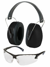 Pyramex Venture Gear Shooting Glasses & Noise Reduction Earmuff Combo Pack