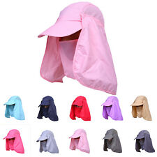 Fashion Sports Fishing Hiking Hat UV Protection Face Neck Flap Outdoor Sun Cap
