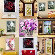 Animal Style DIY 5D Lily Diamond Embroidery Painting Cross Stitch Kit Home Decor