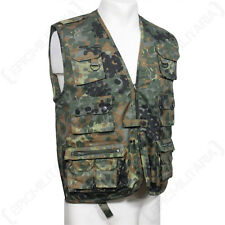 HUNTING AND FISHING VEST - FLECKTARN - Waistcoat Camouflage Shooting Outdoor