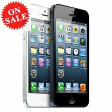 "Apple iPhone 5/4S ""Factory Unlocked"" Black and White Smartphone GSM Unlocked V11"
