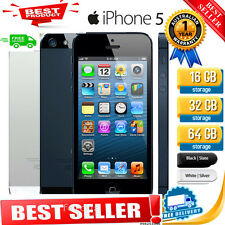 NEW AT&T Apple iPhone 5 -iPhone 4s Factory Unlocked 8-16-32-64GB Smartphone SS++