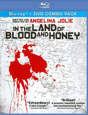 NEW In the Land of Blood and Honey 2-disc Blu-ray set (Angelina Jolie)