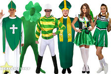 ST PATRICK'S DAY UNISEX CHOOSE FANCY DRESS COSTUME IRISH MENS WOMENS OUTFIT