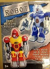Walking Robot Lights and Sounds Choice of 2 Colours
