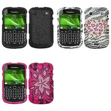 For BlackBerry Bold Touch 9900 9330 Diamond Diamante Bling Rhinestone Case Cover