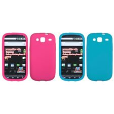 For Samsung Stratosphere 3 Silicone Skin Rubber Soft Case Phone Cover