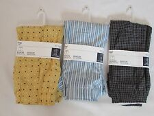 LOT OF 3 NEW WITH TAGS PAIRS OF MEN'S GAP BOXER SHORTS, SIZE X-LARGE