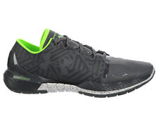NEW MENS UNDER ARMOUR SPEEDFORM AMP TRAINER RUNNING SHOES TRAINERS RHINO GREY