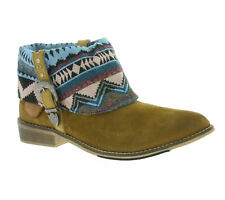 NEW Pepe Jeans Bowie Navajo Children Real Leather Boots Boots Brown PGS50047 869