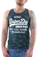 Superdry Tank Men SHIRT SHOP SURF VEST Navy Marl