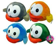 """FLAPPY BIRDS LARGE 9"""" PLUSH SOFT TOY ORANGE GREY BLUE GREEN NEW WITH TAGS"""