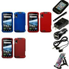 For Motorola Atrix 4G Rigid Plastic Hard Snap-On Case Phone Cover Accessories
