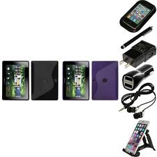 For BlackBerry Playbook TPU Rubber Skin Flexible Case Phone Cover Accessories