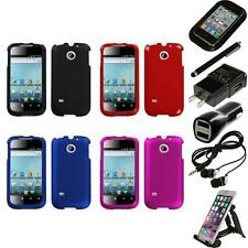 For Huawei Ascend 2 M865 Snap-On Hard Case Phone Skin Cover Accessory Bundle