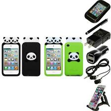 For Apple iPod Touch 4th Gen Silicone Design Skin Soft Phone Case Accessories