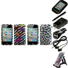 For Apple iPod Touch 4th Gen Design Snap-On Hard Case Skin Cover Accessories