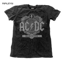 Official T Shirt ACDC AC/DC Black Ice Logo SNOW WASH Vintage All Sizes