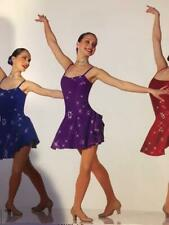 Jazz Dance Costume Dress Tap Skate Pageant City Lights