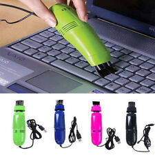 Colors Desktop Laptop Brush Vacuum USB Keyboard Cleaner Dust Cleaning Kit
