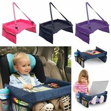 Waterproof Baby Safety Travel Tray Drawing Board Table Kids Car Seat Snack BD